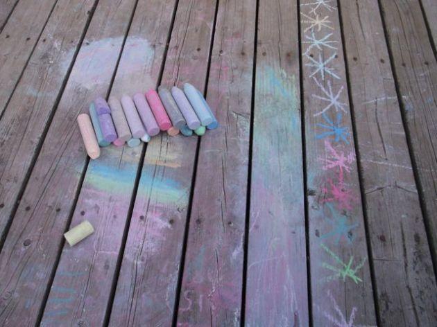Chalk.