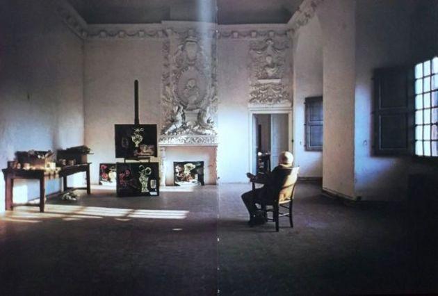 Picasso's studio.