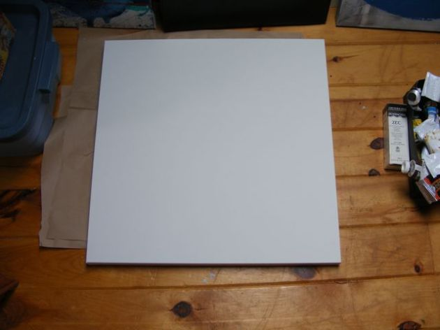 24x24 inch canvas.
