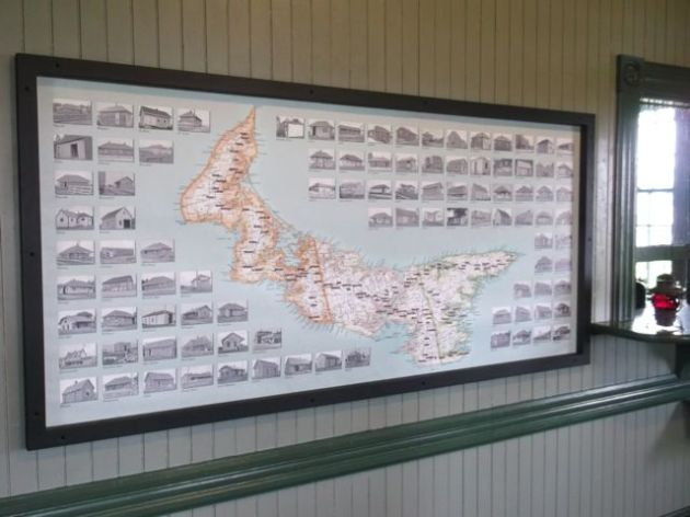 Stations of Prince Edward Island.