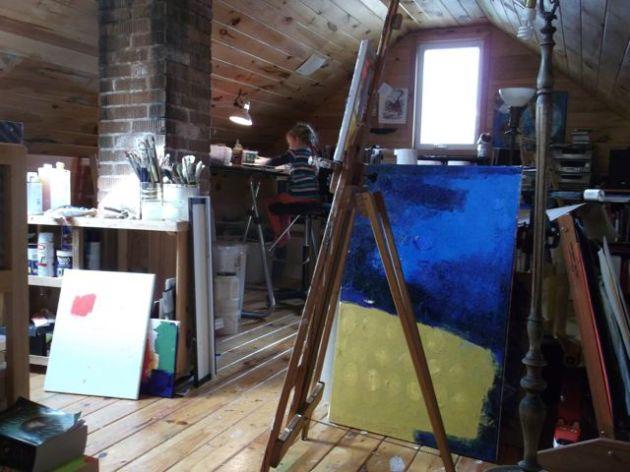 Studio In October.