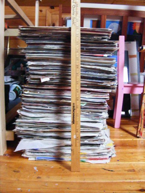 Big pile of work.