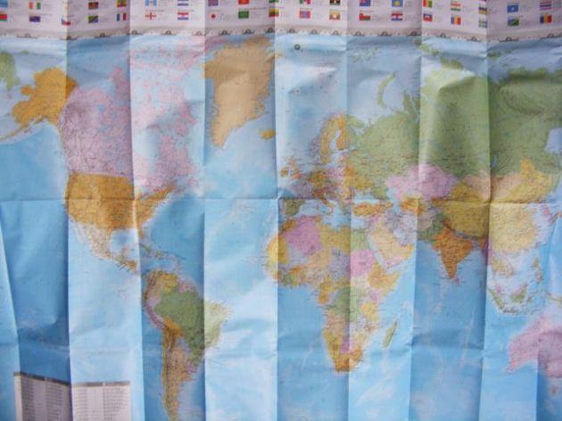 Trade routes.