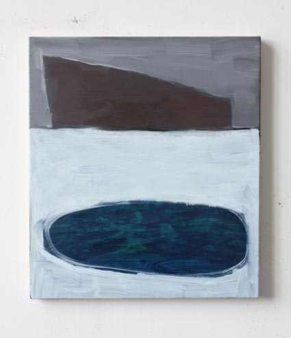 Battleship, 2011, oil on canvas, 45cm x 40cm