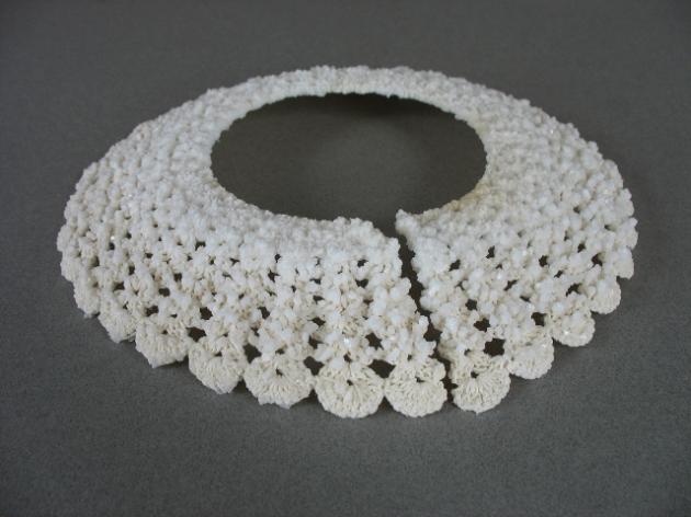 Crystal collar.