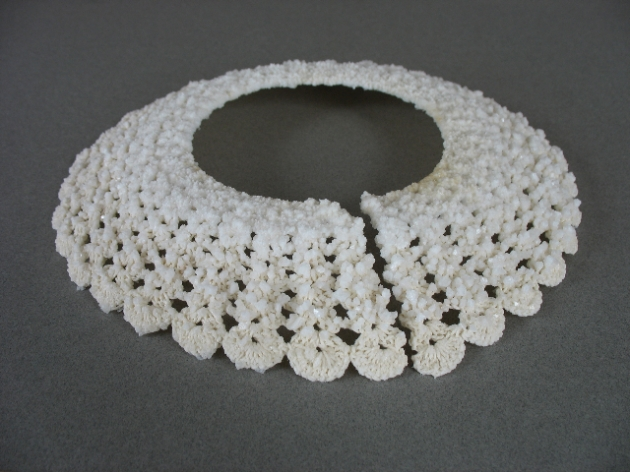 Crystal collar.