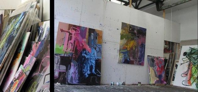 Studio of Tadeusz Bartos.