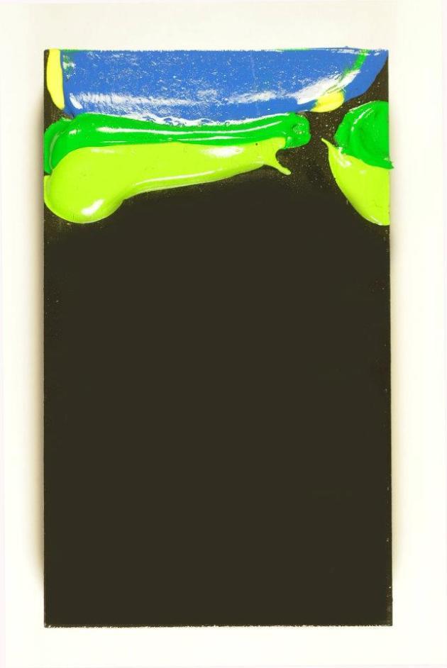 Li'l Monoliths, 5x3 inch painting.