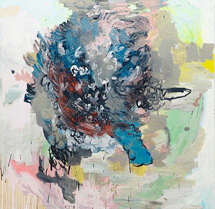 Elephant Head, oil on canvas, 150x150 cm, 2012