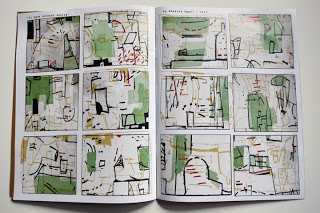 """it went without saying"" abstract comic published in Central Booking Magazine/ April 2013"