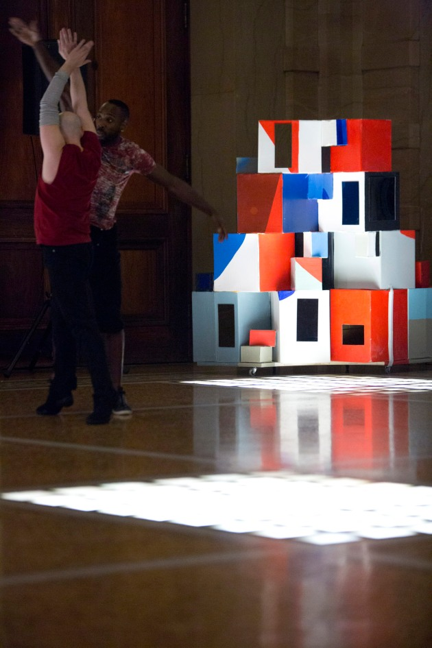 × Close One Small Gesture Away from Destruction Installation. Dance Performance - Installation for Industry of the Ordinary at the Chicago Cultural Center, 2013. Sic Transit Gloria Mundi