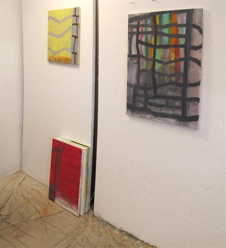 Joan Mellon's studio.
