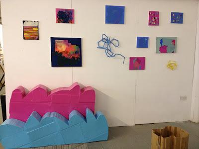 Melanie Russell's studio.