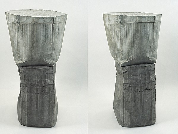 Ninth Envoy 2008 33 x 15 x 17.5 inches concrete