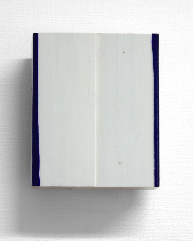 Harm Ronald Maris // Part II // 14 x 10,5 x 4,5 cm // Wood, acrylic // 2013