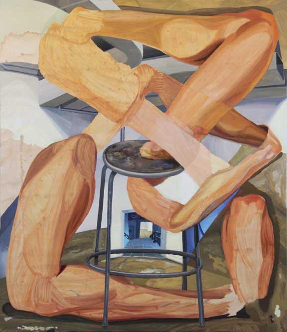 Labyrinthineon, oil, 2012.