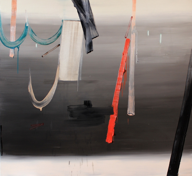 "Scott Everingham, Pause, Repeat., 2013. 60"" x 66"", oil on canvas"