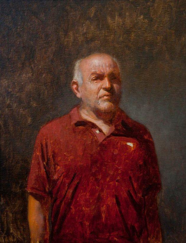 Klaas Sijpkens - 50 x 40cm - Oil on Linen [2013]