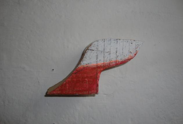 Hout, oilsticks (Wood, oilsticks) 2012.