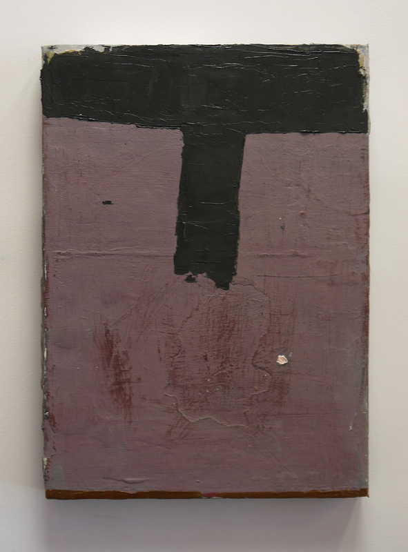 'T' Bar 2 Oil on canvas 35 x 25 cm 2013