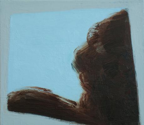 Untitled (630) 35 x 40 cm, oil on panel