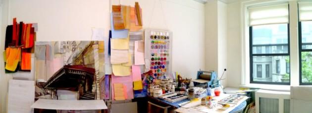 Kyle Gallup's studio