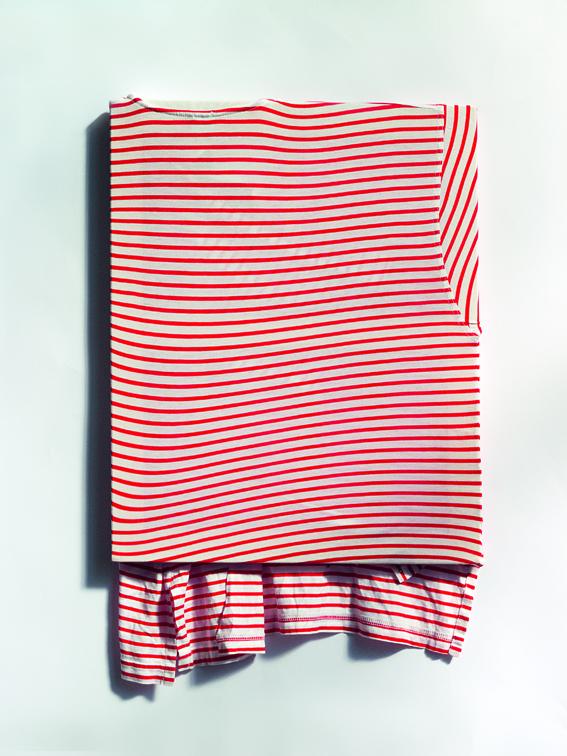 Jersey, no title - 2012 - tissu sur chassis - 60 x 40 cm