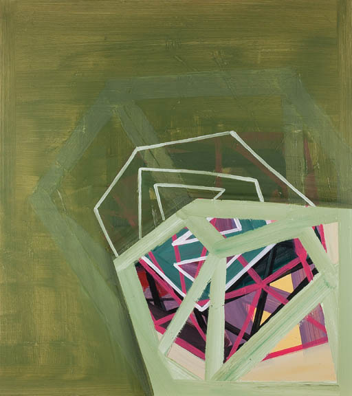 "Mathemetical Pursuits, 2012, oil on panel, 36"" x 32"""