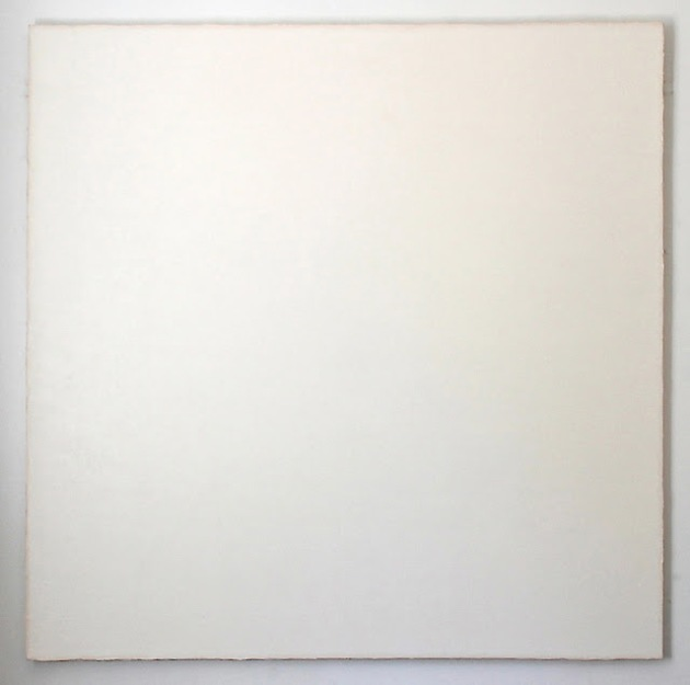 Whites of Gray, Yellow, Red, 60 x 60 inches, 2013