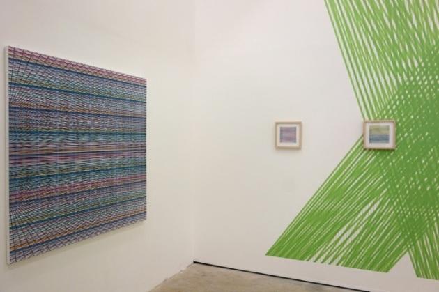 Installation view at Galerie Gourvennec Ogor, Marseille, FR.