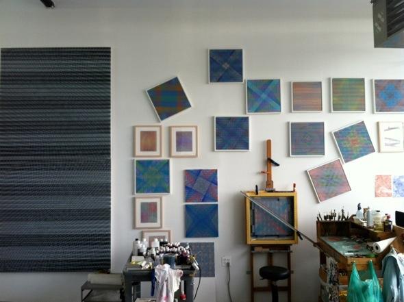 Rob de Oude's studio