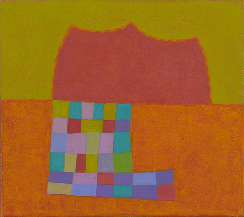 """Hopscotch"" 2013 Oil on Canvas 16""x18"""