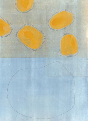 ohne Titel (2002, Aquarell/Papier, 10,3x14,0 cm)