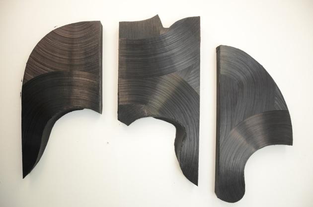 Tamesis II, oil on canvas, 82″ x 54″ x4″, 2011