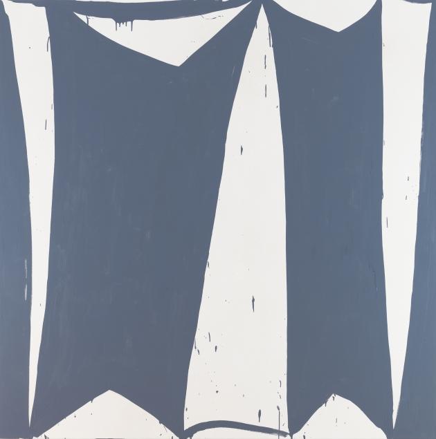 "Amy Feldman, Ohm Home 2013  80"" x 80""  acrylic on canvas"