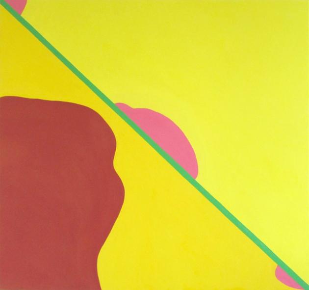 it was just a false alarm, 2013. Oil on canvas. 150x160cms.
