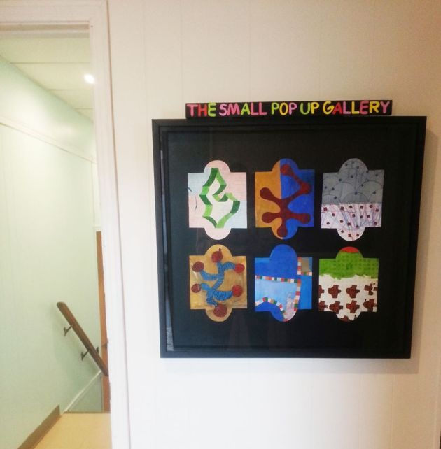 """Happy to be hosting a """"small town pop up gallery"""" in our office space! Such a great project lead by this town is small member Stephen B. MacInnis - drop in to the third floor of 126 Richmond to check it out!"""