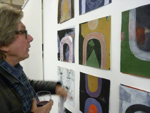 November 2013 Painting Too, Harrington Mills Studio Nottingham, UK (curated by David Manley)